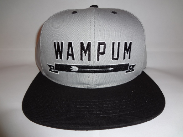 Gray Wampum Arrow Snapback