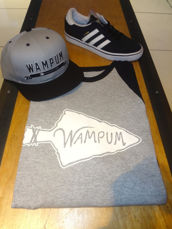 Wampum Baseball Tee and Arrow Snapback