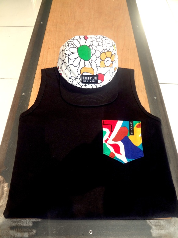Wampum Tank Top and Flower Five Panel