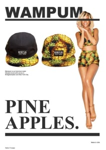 Wampum Pineapples.