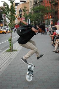Wampum Fresh Skateboard Deck.